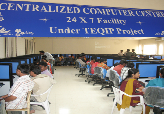 Centralized Computer Centre (24x7 Facility)